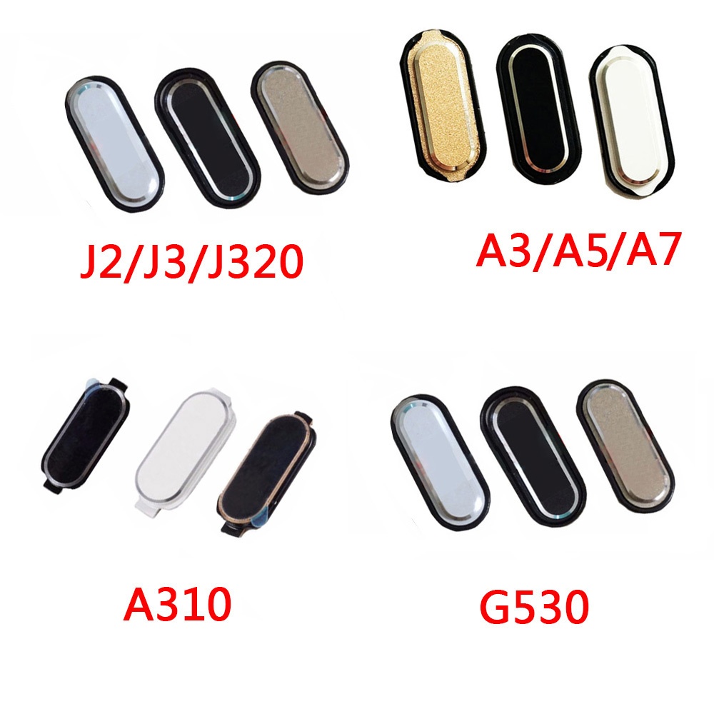 10PCS For Samsung Galaxy J1 J100 J2 J200 J3 J320 J320F J120G G530 G5308 G531 J5 J7 E5 E7 A3 A5 A7 Home Button Return Key Keypad