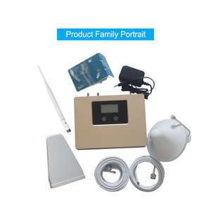 Image 4 - New Arrival!LCD display 2g 3g 4g mobile signal booster DUAL BAND 1800/2100mhz cellular signal cell phone repeater amplifier kit