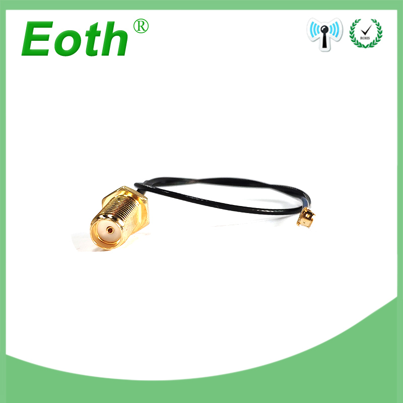 2 Pieces Lot 20cm Extension Cord UFL To RP-SMA Connector Antenna WiFi Pigtail Cable IPX To RP-SMA  Female  To IPX