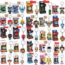 FUNKO POP мультфильм Агнесс Человек-паук форки малефисент Карманный Брелок виниловая экшн-фигурка игрушки для детей Рождественский подарок
