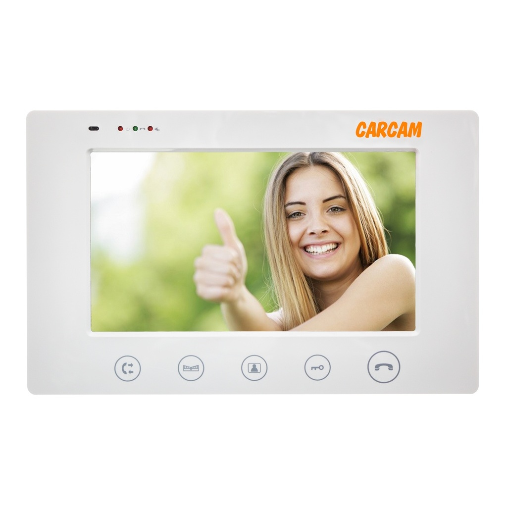 Video Intercom CARCAM DW-710 With Display 7 ''with интеркома