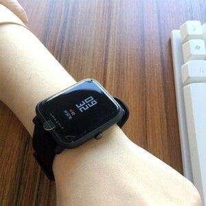 Image 3 - İngilizce sürüm akıllı saat Amazfit Bip Hua mi Mi Pace Lite IP68 GPS Gloness Smartwatch kalp hızı 45 gün bekleme
