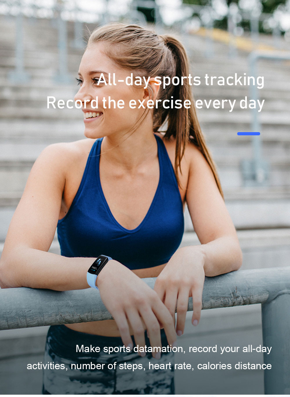 Hb90bc8c7a99e45fe84ab23b276bdf19as Smart Fitness Bracelet Blood Pressure Measurement Fitness Tracker Waterproof Smart Band Watch Heart Rate Tracker For Women Men