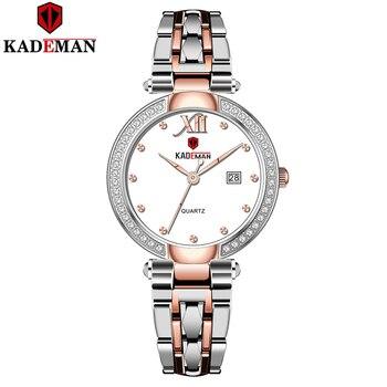 KADEMA 2020 New Gold Watch Women Watches Ladies Creative Steel Women's Bracelet Female Waterproof Clock Relogio Feminino - discount item  80% OFF Women's Watches
