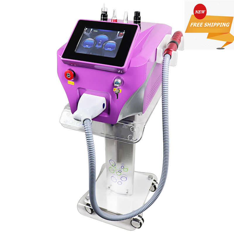 2020 Newest Portable Nd Yag Laser Picosure Picosecond Laser With Carbon Peel Skin Whitening Tattoo Removal Machine