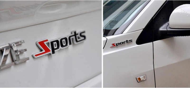 車のスタイリング 3D 金属車のステッカースポーツフォードフォーカス久我フィエスタ Ecosport モンデオ Escape Explorer エッジ Mustang Fusion フレックス