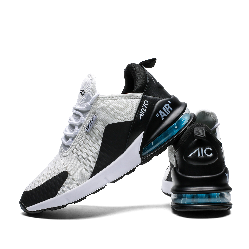 New Fashion Shoes For Men Jogging Sneakers For Couple Air Sole Breathable Mesh Light Outdoor Training Fitness Sport Male Shoes