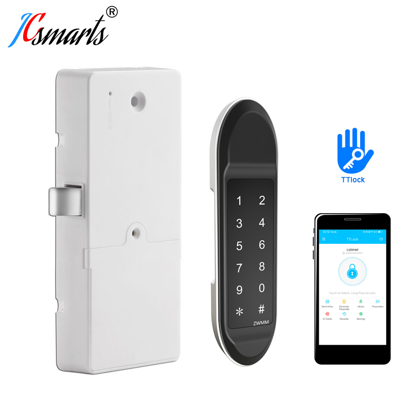 Digital Smart Lock Door Wifi TTlock App Bluetooth Lock For Cabinets/ Lockers/ Drawers