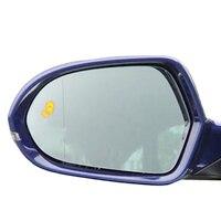 led car Side mirror light BSM blind spot Detector lane change warning system Accessories parts for A6 C7 C8