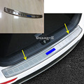 Наклейка на кузов автомобиля  внешний задний бампер  защитная накладка для багажника  пластина из нержавеющей стали  педаль для Kia Sportage KX5 2016 ...