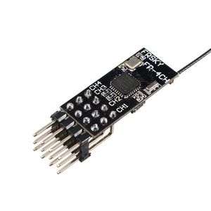 Image 3 - 11*25mm 2.4G 4CH Frsky D8 PPM PWM Mini Receiver 3.5 10V for FRSKY X9D Plus X9E DJT/DFT/DHT Transmitters RC Airplane FPV Racing