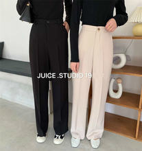 Женские свободные брюки zosol с высокой талией и драпировкой