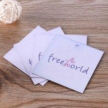 Персонализированная одежда висит ценники бумажные карточки матовый, на заказ глянцевый, ламинированный 30 шт. CB3K8