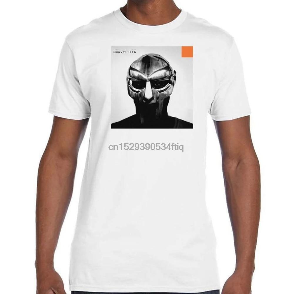 mf Doom /& Madlib Madvillain All Caps T-shirt Black S-5xl Unisex Tee Blac