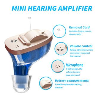 2021 nowy najlepszy audiphone aparat słuchowy Mini wzmacniacz słuchu wzmacniacz dźwięku do ucha CIC audifonos aparaty słuchowe aparaty słuchowe tanie i dobre opinie KASI Chin kontynentalnych Hearing Aids Siemens Hearing Aids hearing audifonos CIC hearing aid sound amplifier deaf hearing aids