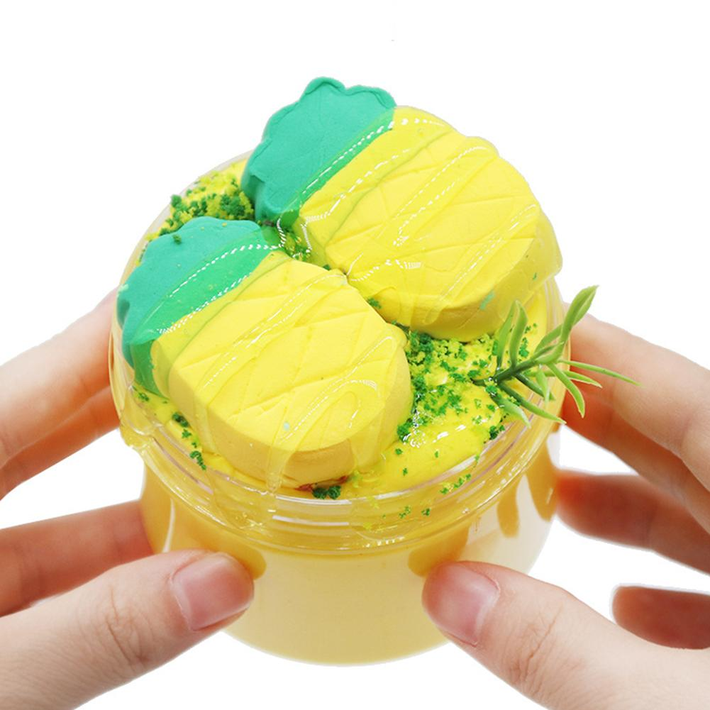 Realistic 2 Corns Cotton Slime Fluffy Soft Putty Clay Decompression Kids Toy Develop The Kids' Creativity And Imagination Gifts