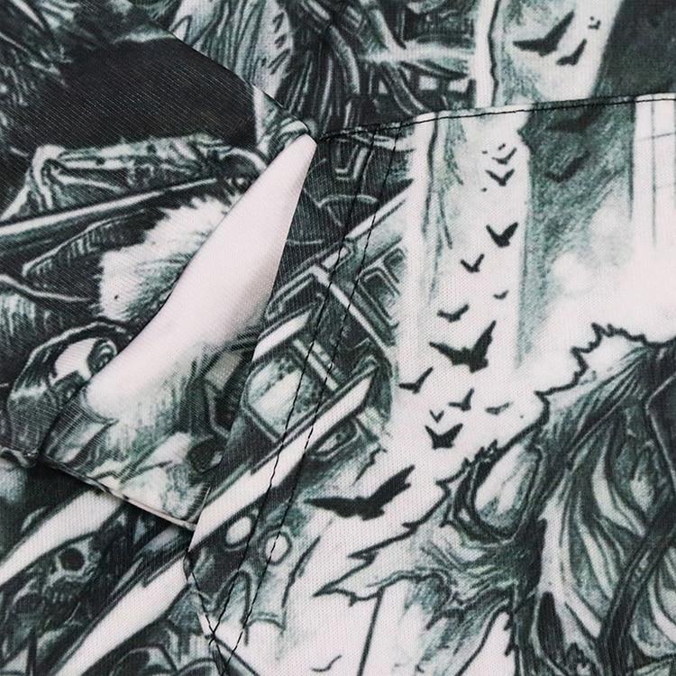 Толстовка с капюшоном 3d принтом животных ящерицы осенне зимний