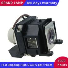 ELPLP40 Compatible lampe de projecteur pour EPSON EMP 1810/EMP 1815/EMP 1825/EB 1810/PowerLite 1810p/PowerLite 1825 GRAND