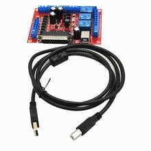 Nowy 6 osi CNC MCACH2 MACH3 maszyna do grawerowania interfejs tabliczka zaciskowa USB PWM wrzeciono
