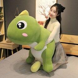 55-140cm tamanho grande longo adorável dinossauro brinquedo de pelúcia macio dos desenhos animados animal dinossauro recheado boneca travesseiro para crianças presente de aniversário da menina