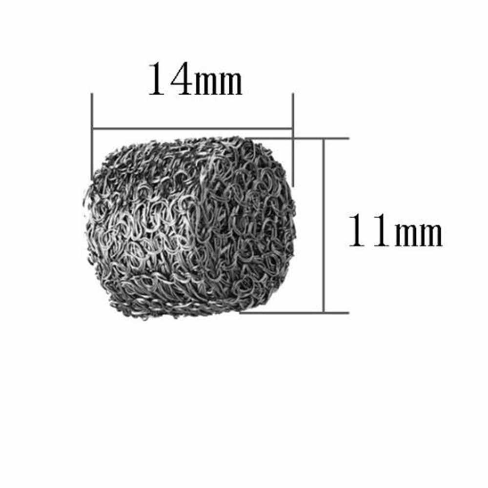 Laleyenda Lưới Thép Không Gỉ Xốp Lọc Máy Tính Bảng Đầu Phun 1.1 Mm Cho Bọt Tuyết Nồi Pháo Lance Cao Áp Rửa Xà Phòng sữa Rửa Mặt Foamer Súng