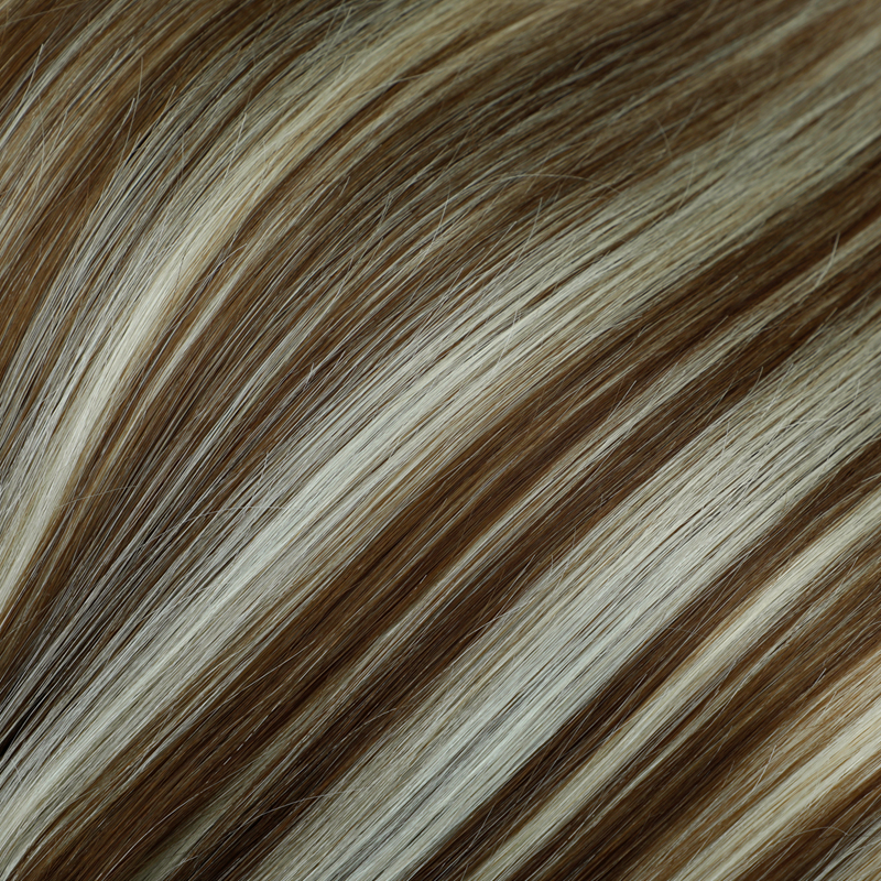 Leshine Indian Remy Hair #60 Blonde 14??16??18?? Natural Human Hair Clip Seamless Hair Extensions Fast Delivery