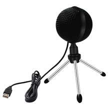 Usb Microphone Omnidirectional 360 Degree Spherical Computer Mic Condensador Microfono for Youtube Recording Singing