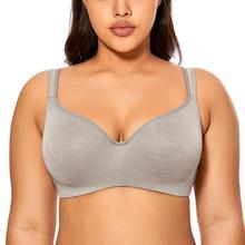Mịn Của Phụ Nữ Đầy Đủ Độ Phủ Nội Y Viền Balconette Áo Thun Áo Ngực