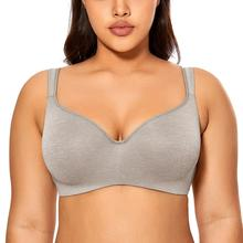 Womens Smooth Full Coverage Underwire Contour Balconette T Shirt Bra