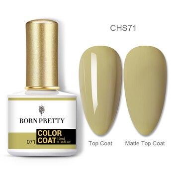 BORN PRETTY Nail Gel 120Colors 10ml Gel Nail Polish Soak Off UV LED Gel Varnish Holographics Shining Nagel Kunst Gellack 132