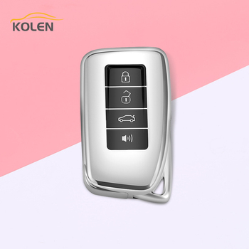 New TPU Car Remote Key Case Cover For Lexus IS ES NX RX GS LX RC GX LS 200 250 300 300H 350 450H Protected Shell Fob Accessories image