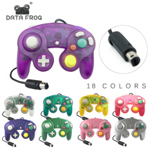 DATA FROG Wired Joypad Controller For Gamecube Handheld Joystick Computer Nintend Wii Vibration Gameing