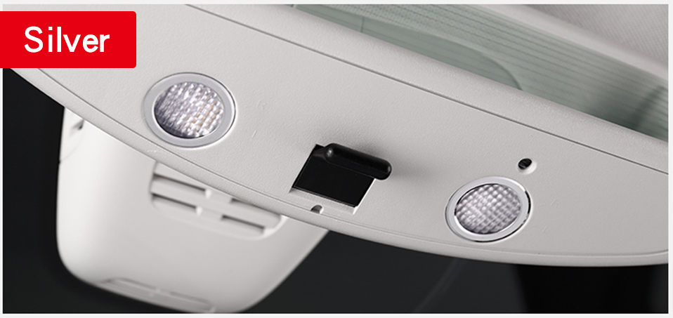 Front reading light ring For Mercedes w205 amg interior trim c63 mercedes c class accessories w205 Mercedes glc x253 amg coupe in Interior Mouldings from Automobiles Motorcycles
