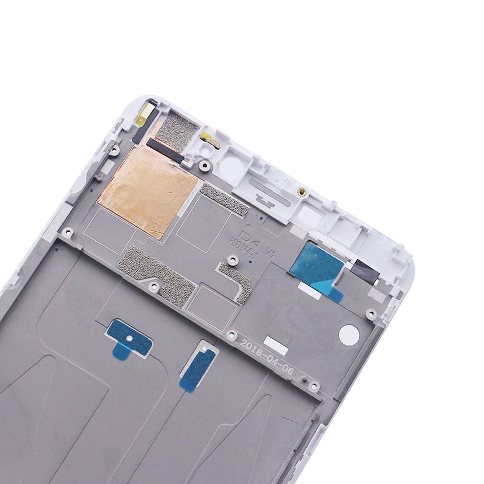"""מקרנים ופלאזמות Shyueda על המקורי בניו 6.44"""" במשך Xiaomi Mi מקס 2 MDE40 MDi40 MDT40 קדמי מסגרת התיכון מסך Bezel והשיכון (5)"""