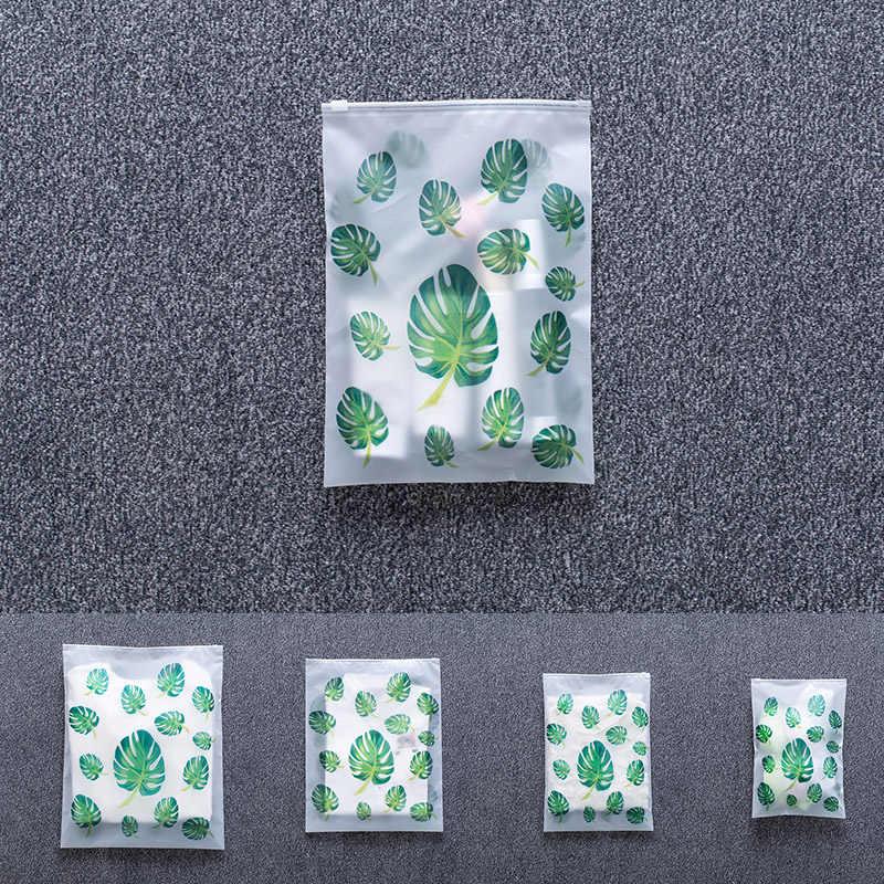 Reise Matt EVA Verpackung Cubes für Koffer Set 5 Pcs Lagerung Für Kosmetische Kleidung Schuhe Lagerung Organizer Taschen Zipper Ziplock