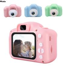 Mini Cartoon Camera Educational Toys For Children 2 Inch HD Screen Digital Camera Video Recorder Camcorder For Kids Girls Camera
