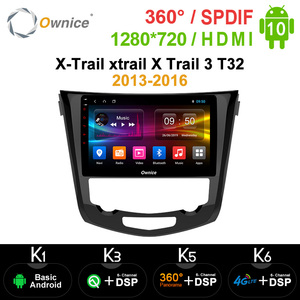 Ownice Android 10.0 Car DVD multimedia player 8 core for Nissan X-Trail xtrail X Trail 3 T32 2013-2016 Qashqai 2 J11 2016(China)