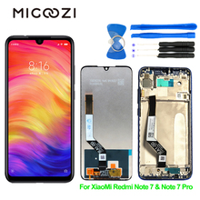 Original for Xiaomi Redmi Note 7 Pro LCD Display Touch Screen with Frame Assembly Digitizer Redmi Note 7 Prime Global Parts 6 26 original lcd for xiaomi redmi note 7 lcd display touch screen digitizer assembly for redmi note 7 pro lcd with frame