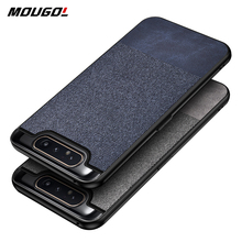 For Samsung A80 Case Cloth Shockproof Case for Samsung Galaxy S10 S10E S9 S8 S7 Plus 5G A30 A40 A70 A80 A90 Note 8 9 10 Pro Case luxury defender shockproof protection phone case for samsung galaxy s10 plus s10 5g s9 s8 s7 note 10 pro 9 8 hybrid armor cover