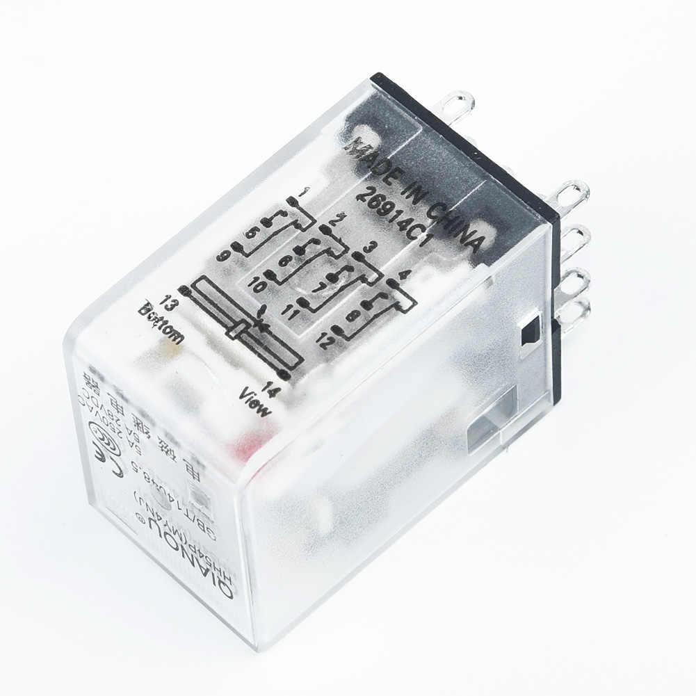 Kit Leistungsrelais 10A LY2NJ DPDT 8 Pins Mit Sockel 110//120V  220//230V Zubehör