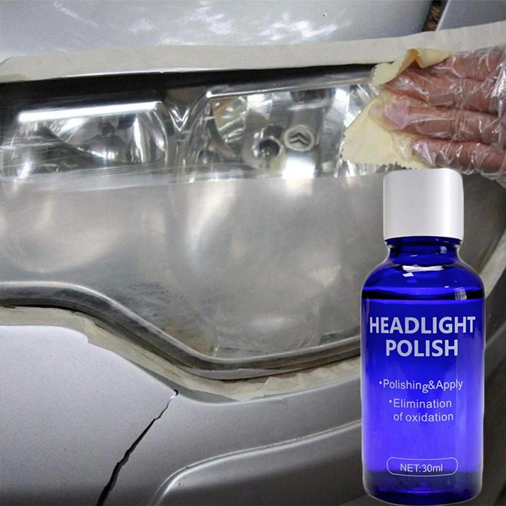Набор для ремонта автомобильных фар 30 мл, набор для ремонта, окисление, покрытие заднего вида, полировка фар, Жидкость против царапин# PY10