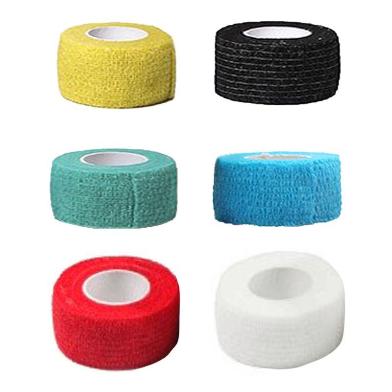10 Pieces Self Adhesive Elastic Bandage Wrap Stretch Self Adherent