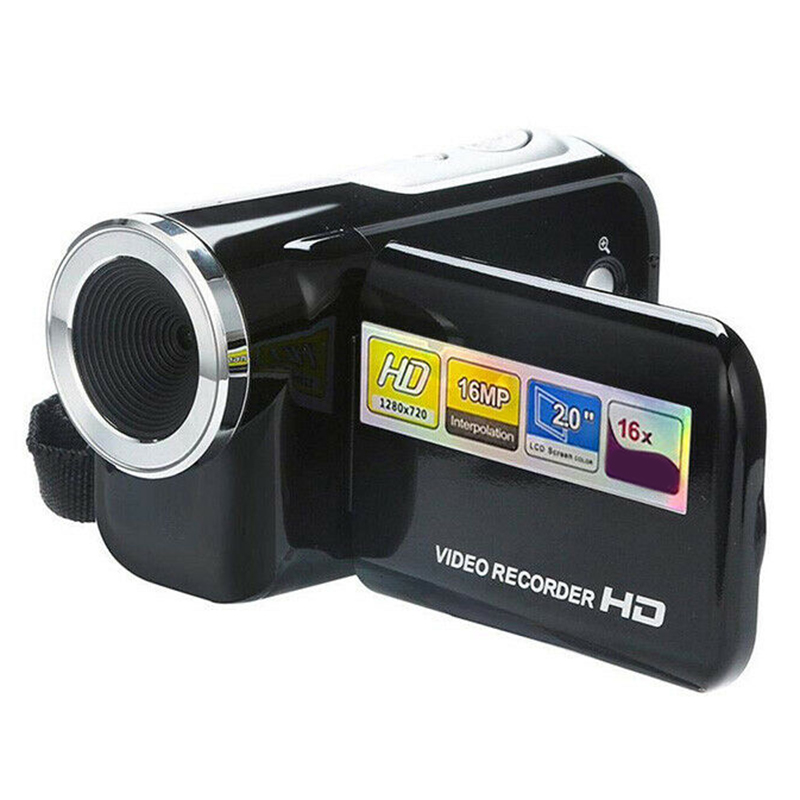 Kids Camera 2 Inch Screen Video Recorder 16 Megapixels Camcorder For Outdoor Home FJ88
