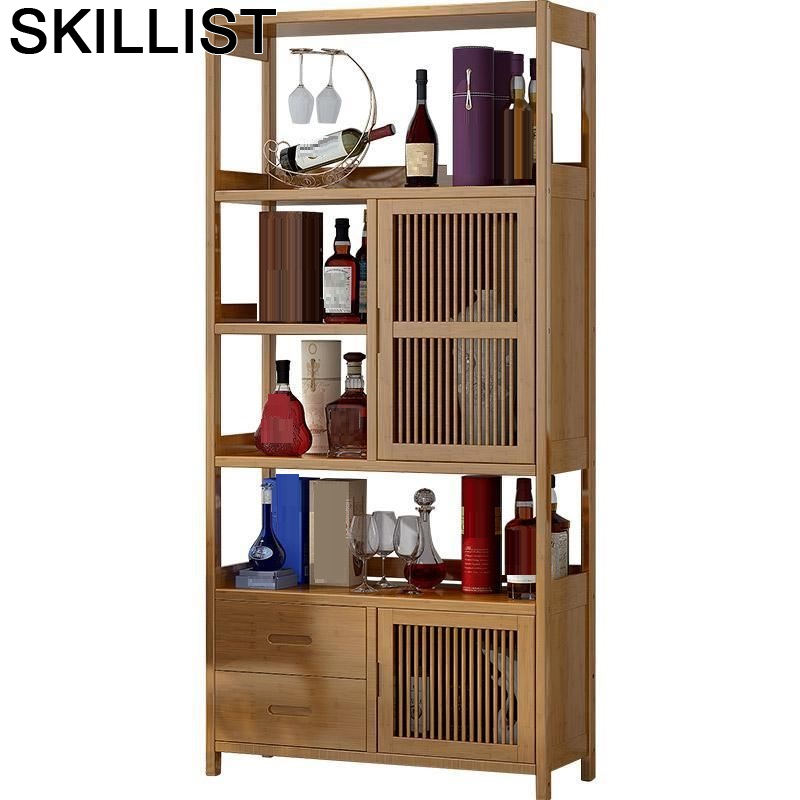 Display Table Adega Vinho Living Room Desk Shelves Armoire Sala Kast Meuble Cocina Meube Shelf Furniture Mueble Bar Wine Cabinet