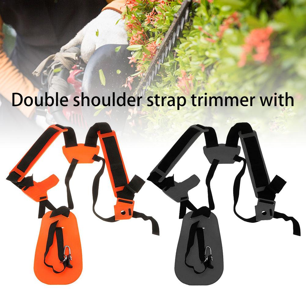 Double Shoulder Strap Trimmer Durable Nylon Strap For Shrub Cutters Or Garden Mowers For STIHL FS, Km Series Trimmers