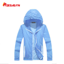 ROEGADYN наружное спортивное пальто, ультра-светильник, непромокаемая ветрозащитная куртка для бега, водонепроницаемая для женщин и мужчин, толстовка с капюшоном, быстросохнущая куртка