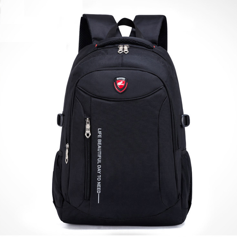 WEIXIER Men Fashion 2019 Multifunction Rucksack Waterproof Oxford Student Schoolbag Travel Bags Casual Teenager Backpack