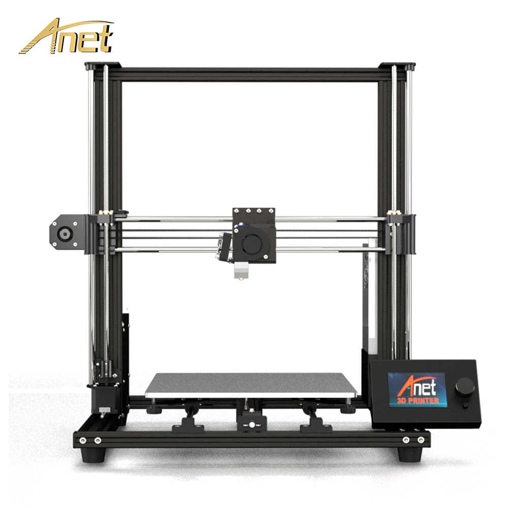 Anet 3d-printer A8 plus Desktop Machine Hoge precisie aluminiumlegering FDM 3D-printer met gloeidraad 3D-printerset DIY