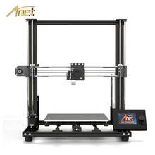 Anet 3d printer A8 plus Desktop Machine High Precision Aluminum Alloy Frame FDM 3D Printer with Filament 3D Printer Kit DIY full acrylic 3d printer frame precision anet a8 3d printer kit diy reprap prusa i3 2004 lcd display 8gb sd card filament gifts