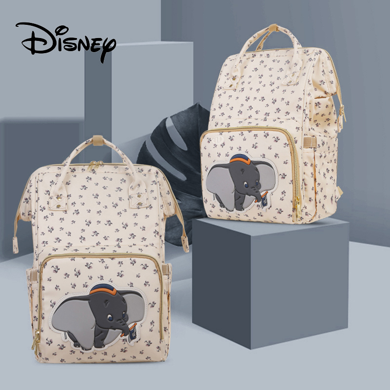 Disney New In 2019 Fashion Mummy  Nappy Bag Travel Diaper Bag Backpack Mommy Bag Maternity Large Nappy Waterproof Bag